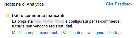Messaggio Dati E-commerce Mancanti -img